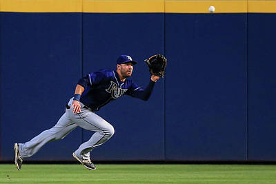 Photograph - Tampa Bay Rays V Atlanta Braves by Daniel Shirey