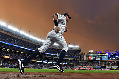 Photograph - Tampa Bay Rays V New York Yankees by Drew Hallowell