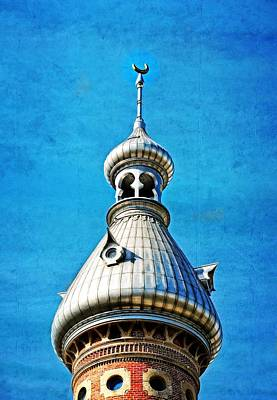 Tampa Beauty - University Of Tampa Photography By Sharon Cummings Art Print