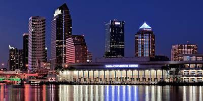Tampa Convention Center Panoramic Art Print