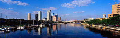 Convention Centers Photograph - Tampa Fl by Panoramic Images