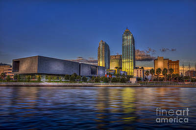 Tampa Museum Art Print by Marvin Spates