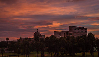 Photograph - Tampa Sunset by Jane Luxton