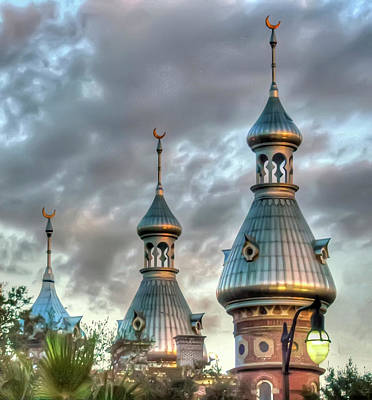 Tampa University Minarets Art Print