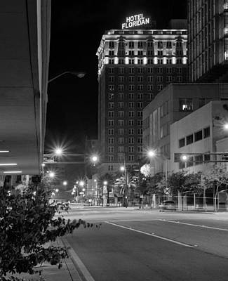 Photograph - Tampa's Empty Streets by Daniel Woodrum