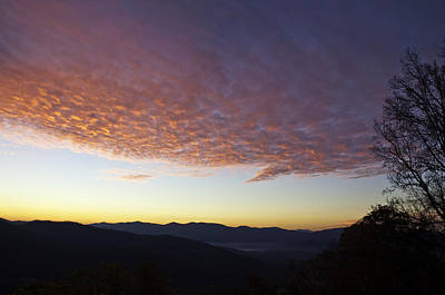 Photograph - Tanbark Ridge Sunrise by Craig T Burgwardt
