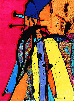 Tandem Of Spirituality Art Print