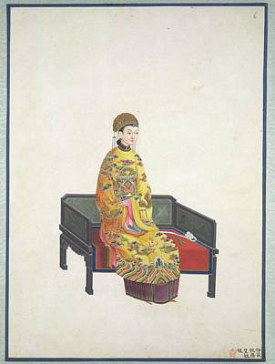 Volume Photograph - Tang Empress by British Library