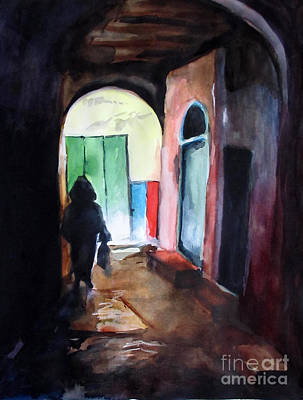 Morroco Painting - Tanger by Marta Lopez