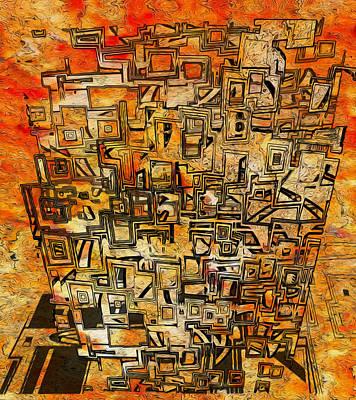 Tangerines Digital Art - Tangerine Dream by Jack Zulli