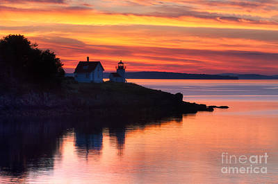 Photograph - Tangerine Sunrise by Deborah Scannell