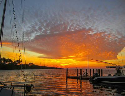 Photograph - Tangerine Sunset by Nancy Yuskaitis