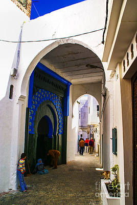 Photograph - Tangier Arch by Rick Bragan