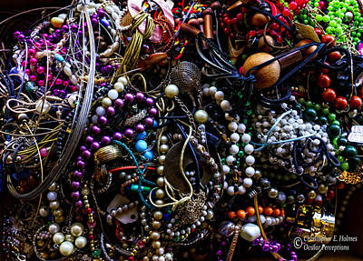 Photograph - Tangled Baubles by Christopher Holmes
