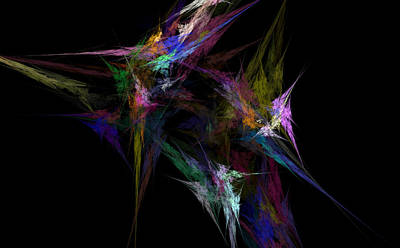 Prose Digital Art - Tangled by Brainwave Pictures