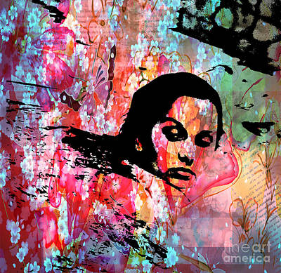 Tangled In Textures Art Print by Randi Grace Nilsberg