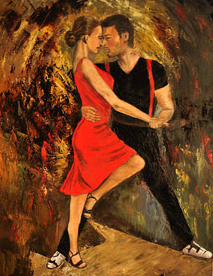 Painting - Tango #2 by Terry Sita