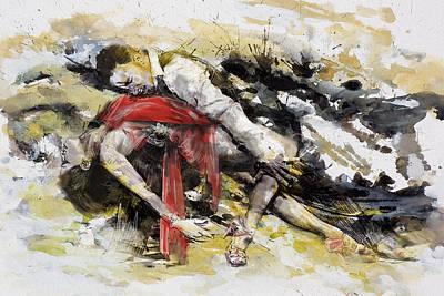 Painting - Tango 9b by Maryam Mughal