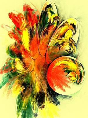 Designs Digital Art - Tango by Anastasiya Malakhova
