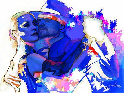 Tango Argentino - Pride And Devotion Art Print by Reno Graf von Buckenberg