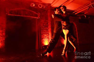 Latin Dance Photograph - Tango Buenos Aires Argentina 1 by Bob Christopher