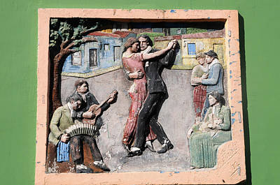 Bandoneon Wall Art - Photograph - Tango Dancer Picture by Maria isabel Villamonte