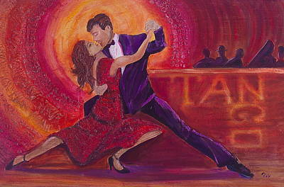 Painting - Tango by Debi Starr
