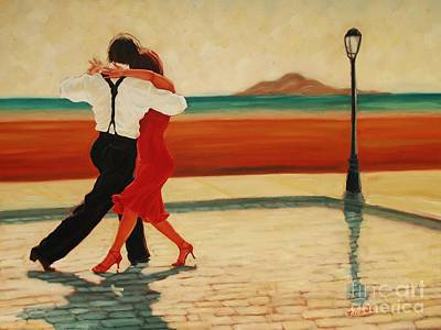 Painting - Tango Heat by Janet McDonald