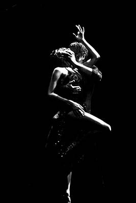Photograph - Tango In Black And White by Sally Ross