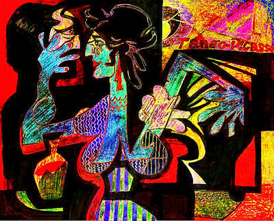 Digital Art - Tango Picasso-ii by Dean Gleisberg