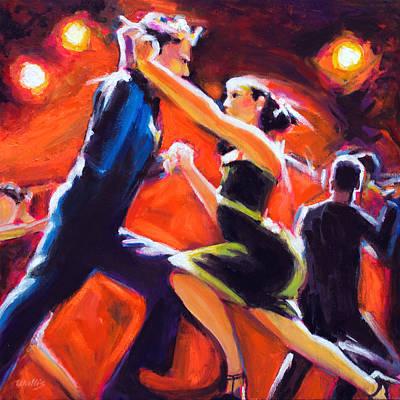 Charles Wallis Painting - Tango Tango by Charles Wallis