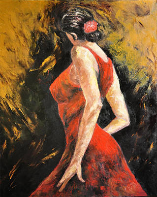 Painting - Tango by Terry Sita