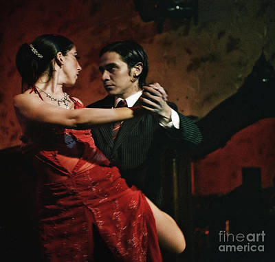 Tango - The Passion Art Print by Michel Verhoef