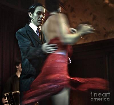Bandoneon Wall Art - Photograph - Tango - The Turn by Michel Verhoef