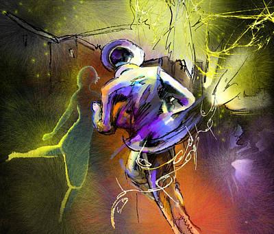 Painting - Tangoscape 02 by Miki De Goodaboom