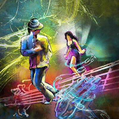 Art Miki Digital Art - Tangoscape 03 by Miki De Goodaboom
