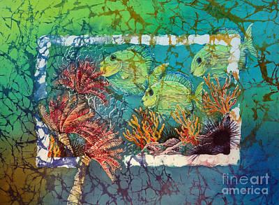 Painting - Tangs Trio by Sue Duda