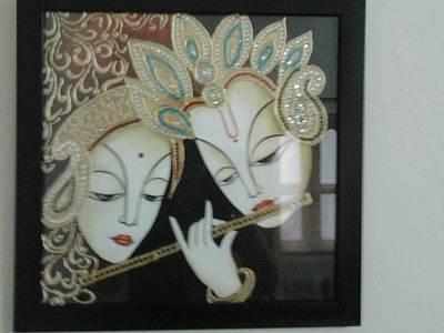 Tamilnadu Painting - Tanjore by Pallavi  Joshi