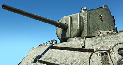 Photograph - Tank - 04 by Gregory Dyer