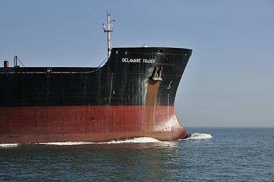 Photograph - Tanker Delaware Trader by Bradford Martin