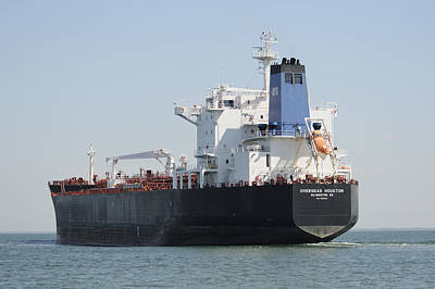 Photograph - Tanker Overseas Houston by Bradford Martin