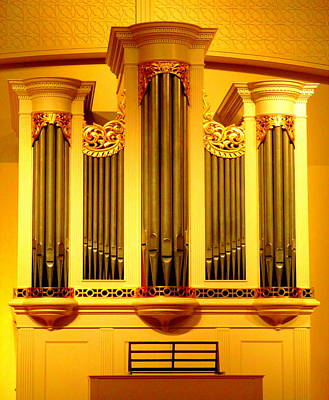 Photograph - Tannenberg Organ by Randall Weidner