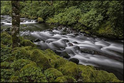 Photograph - Tanner Creek by Erika Fawcett