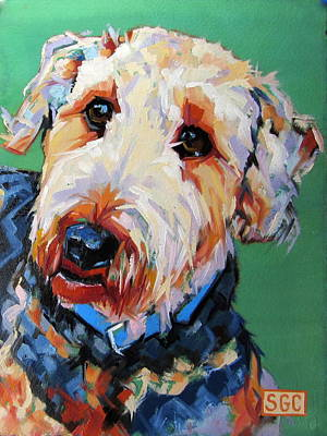 Carter.oil Painting - Tanner by Sarah Gayle Carter