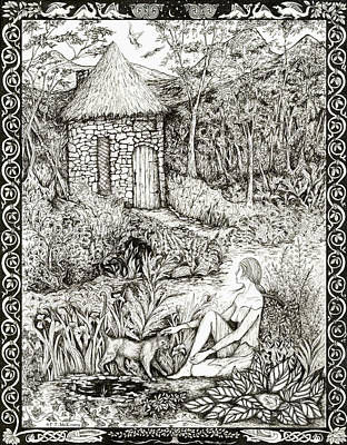 Drawing - Tansel by FT McKinstry