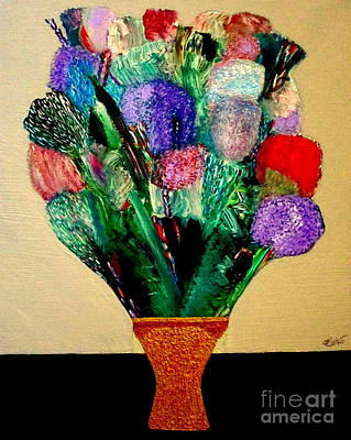 Painting - Tant De Fleurs by Bill OConnor