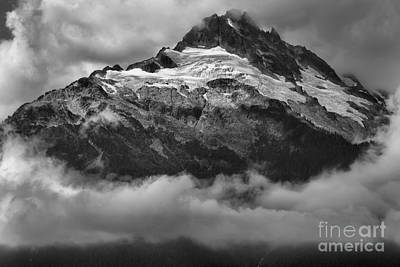 Photograph - Tantalus Bursting Through The Clouds by Adam Jewell