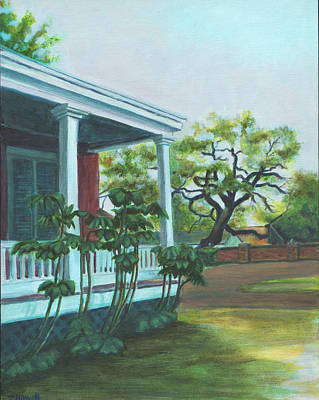 Tante Huppe Inn Art Print by Ellen Howell