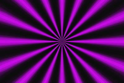 Tantric Purple Art Print by Mateo Brigande