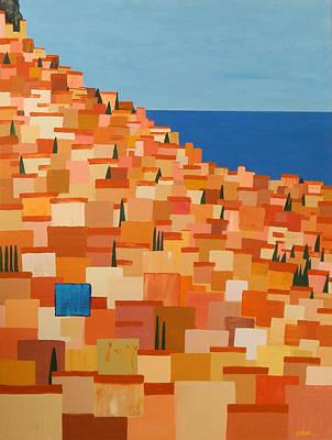 Taormina Art Print by Brenda Helt